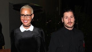 Amber Rose and Val Chmerkovskiy Spark Dating Rumors as They Step Out Holding Hands
