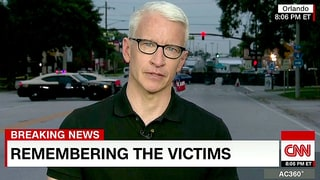 Anderson Cooper Fights Back Tears as He Reads Names of Orlando Shooting Victims