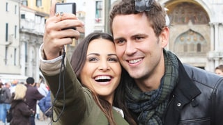 Andi Dorfman Posted the Perfect Reactions to Her Surprise Visit With Bachelor Nick Viall: See Them!