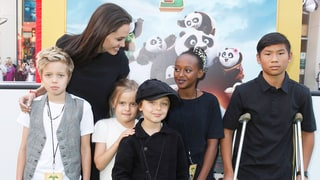 Angelina Jolie, Brad Pitt's Kids Are All Grown Up at 'Kung Fu Panda 3' Premiere: See the Cute Photo!