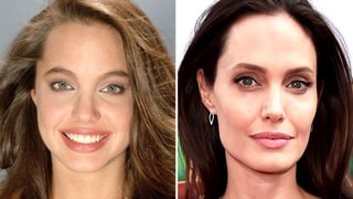 Watch Angelina Jolie's Face Morph Through the Years, From 1991 to Today