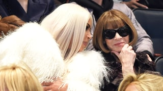 Kim Kardashian and Anna Wintour