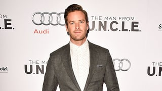 Armie Hammer Reveals Newborn Baby Son's Name in Cute Pic