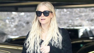 Ashlee Simpson Dresses Her Post-Baby Body in Black Lace