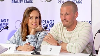 Ashley Hebert and JP Rosenbaum Get Awkward When Questions of Cheating Arise on 'Marriage Boot Camp' Premiere