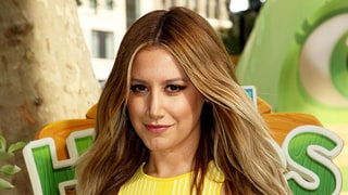 Ashley Tisdale Goes Brunette With an Asymmetrical Lob