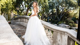 Pregnant Audrina Patridge Shops for Wedding Dresses With Us!
