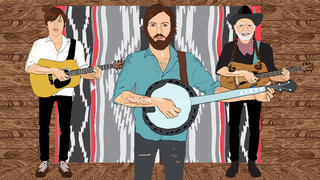 See Avett Brothers Recall Playing With Willie Nelson in Animated Video