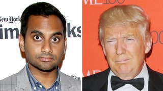 Aziz Ansari: Donald Trump 'Makes Me Afraid for My Family'