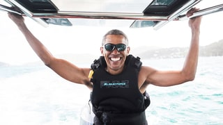 Barack Obama Beats Richard Branson in a Kitesurfing Contest on Vacation: Watch!