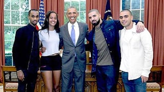 Drake Reminisces About That Time He Met Barack and Malia Obama at the White House