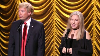 Barbra Streisand Sang a Duet With 'Donald Trump' on 'Tonight Show Starring Jimmy Fallon' and It Was the Best