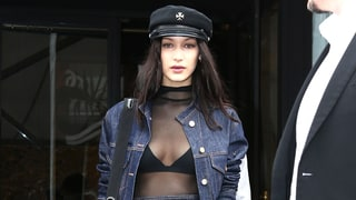 Bella Hadid's Already Showing Off Her Undies After Landing Spot in Victoria's Secret Fashion Show 2016