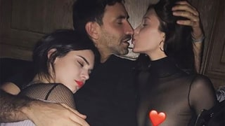 Bella Hadid and Designer Riccardo Tisci Take a Steamy Photo With Kendall Jenner
