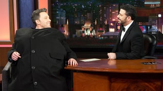 Ben Affleck Hilariously Smuggles Jimmy Kimmel's Nemesis Matt Damon Onto Late-Night Show