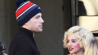 Ben Affleck, Sienna Miller Hold Hands on Movie Set, and It's Not for a Scene: Pictures