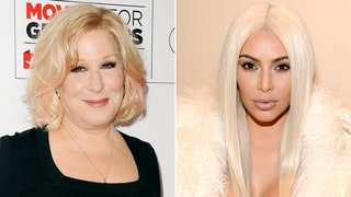 Bette Midler Reacts to Kim Kardashian's Claims: 'I Never Tried to Fake Friend You'