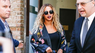 Beyonce Masters High-Low Style With a $360 Kimono and $65 Sunglasses