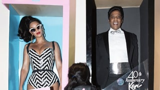 Beyonce and Jay-Z Dress As Barbie and Ken with Blue Ivy for Halloween