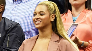 Beyonce Busts Out a Corset-Style Top Taking in the U.S. Open With Jay Z