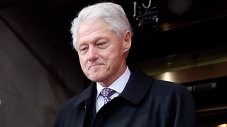 Bill Clinton Didn't Look Too Happy During President Donald Trump's Inauguration Speech