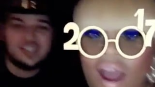 Blac Chyna Wears Her Engagement Ring, Celebrates New Year's Eve With Rob Kardashian