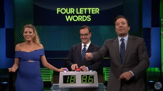 Blake Lively Gets Super Competitive Playing Know It All on 'Jimmy Fallon'