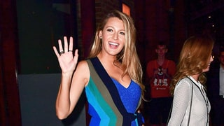 Pregnant Blake Lively Just Blew Our Minds by Wearing Two Dresses at Once
