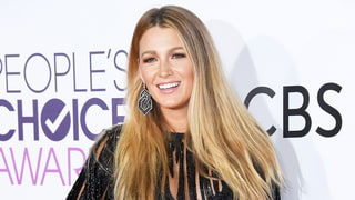 Blake Lively Stuns, Wears Sexy Beaded Mini at 2017 People's Choice Awards — See the Pics!