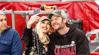 Gwen Stefani and Blake Shelton Head to a Cardinals Game Together: Photos