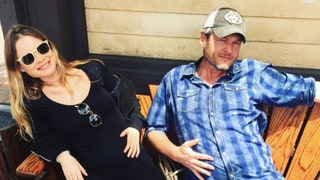 'Pregnant Ladies' Blake Shelton and Behati Prinsloo Show Off Their Baby Bumps for Adam Levine