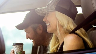 Gwen Stefani, Blake Shelton Share a Laugh While Driving, Are Officially Adorable
