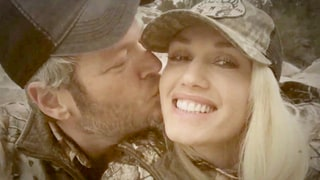 Blake Shelton Won't Stop Kissing Gwen Stefani in New Video: Watch!