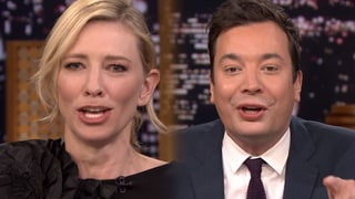 Cate Blanchett Plays Lip Flip With Jimmy Fallon, Sings Duet: Watch!
