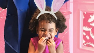 Beyonce, Blue Ivy and Solange Knowles Have a Spring-Themed Tea Party: See the Sweet Photos