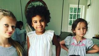 Beyonce's Daughter, Blue, Joins Gwyneth Paltrow's Daughter, Apple, for Birthday Brunch