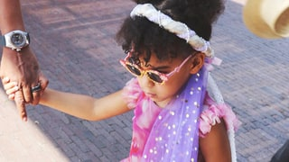 Beyonce Shares New Cute Pics of Blue Ivy — See Her Pigtails!