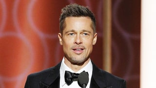 Brad Pitt Greeted With Loud Round of Applause as He Makes Surprise Golden Globes 2017 Appearance