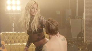 Britney Spears Auditions Hot, Shirtless Men in Sexy New 'Make Me' Music Video