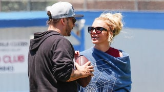Britney Spears and Kevin Federline Reunite at Sons' Football Game