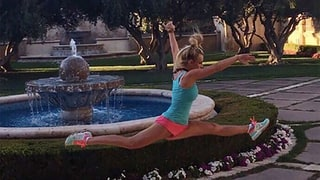 Britney Spears Does the Splits Midair in Impressive Instagram Snap: See the Photo