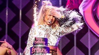 Britney Spears Celebrates Her 35th Birthday With Ryan Seacrest and Tinashe at KIIS FM Jingle Ball 2016