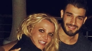 Britney Spears and Boyfriend Sam Asghari Cozy Up at Pal Cade Hudson's Birthday Party