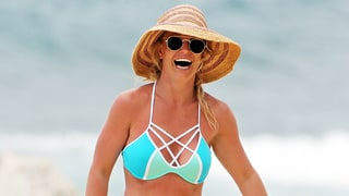 Britney Spears Is the Definition of a Beach Babe in Sexy Bikini: See the Photos