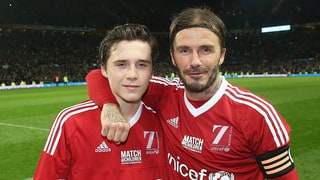 David Beckham Embarrasses Son Brooklyn on Instagram