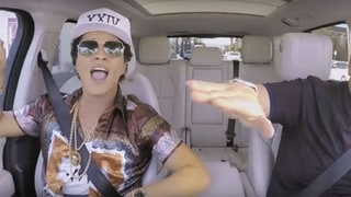 Bruno Mars and James Corden Sing '24K Magic' in Sneak Peek of Carpool Karaoke