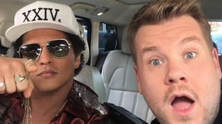 Bruno Mars Films Carpool Karaoke With the Late Late Show's James Corden