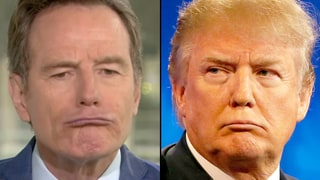 Bryan Cranston Wants to Play Donald Trump: Watch Him Nail the Impression!