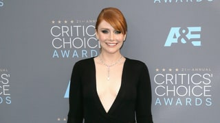 Bryce Dallas Howard Bought Her Balmain Dress Online for the Critics' Choice Awards 2016