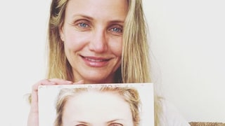 Bare-Faced Cameron Diaz Goes Without Makeup: Here's Why